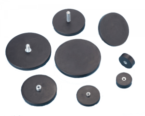 Flexilis-coated urna Magnets